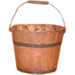 Vintage Shaker Bucket - Child's Wooden Pail with Bail Handle - Mount Lebanon, New York  Shaker Community