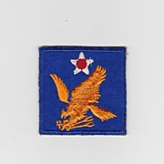 SALE Vintage World War Two Army Air Force 2nd Air Force Golden Falcon Insignia � AAF Uniform S