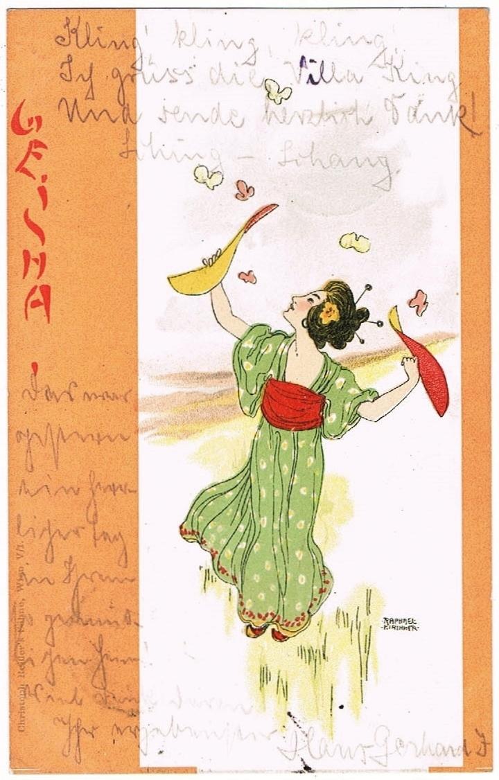 Raphael Kirchner Postcard
