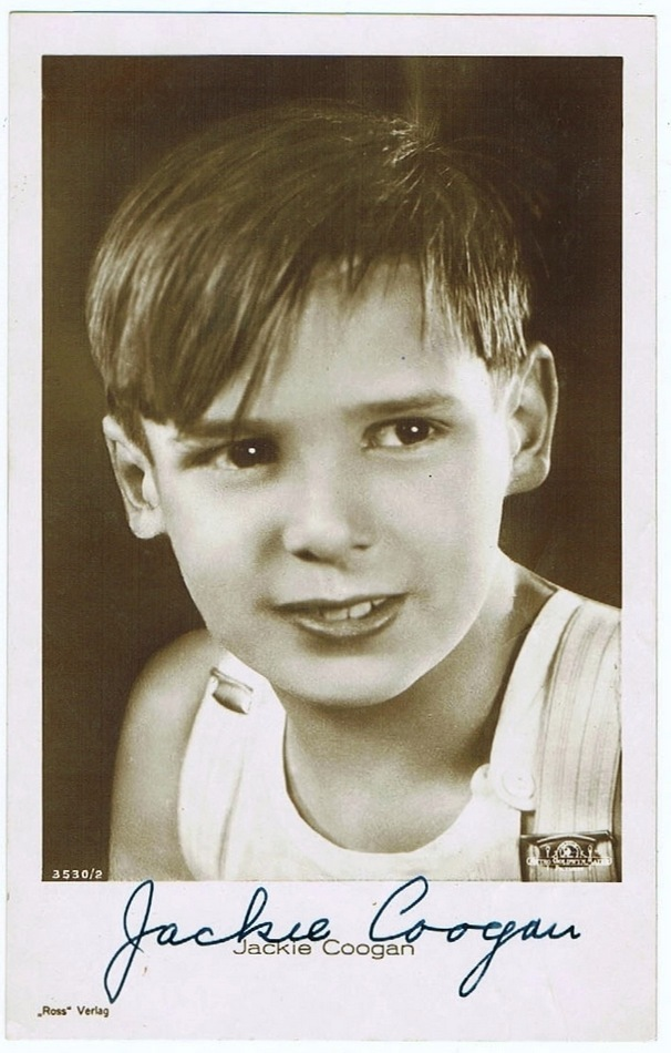 Jackie Coogan Autograph CoA from curioshop on Ruby Lane