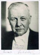 Franz Lehar Autograph
