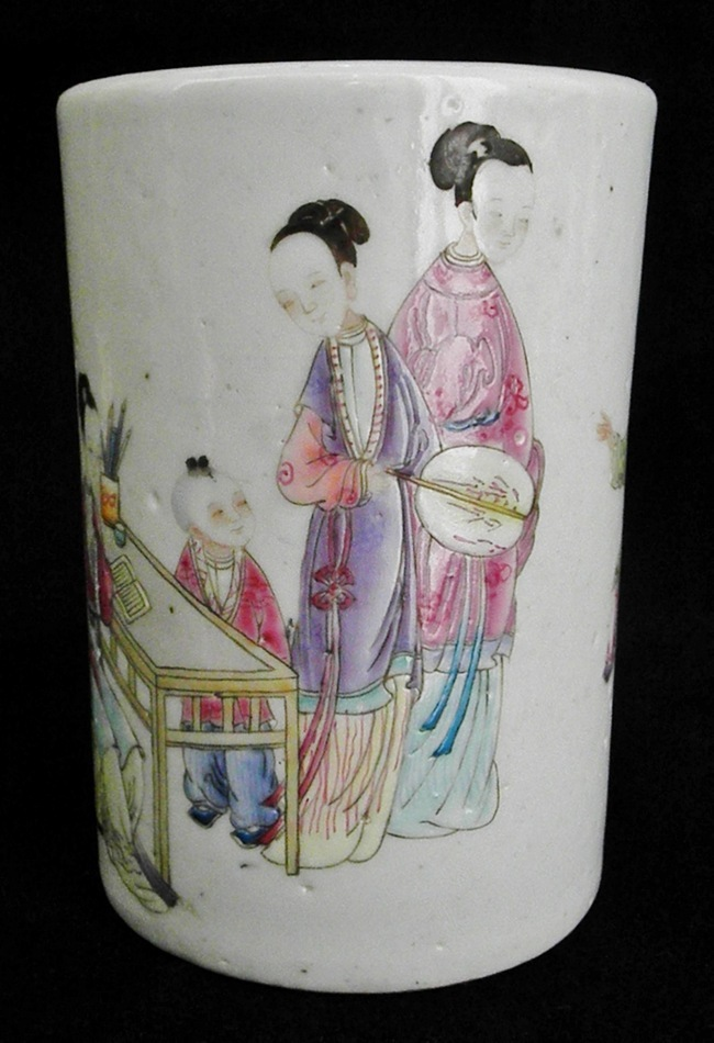 Brush Container from Qing Dynasty