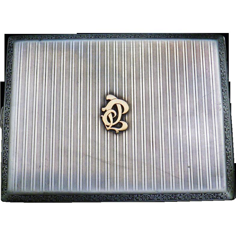 Cigarette box WW1