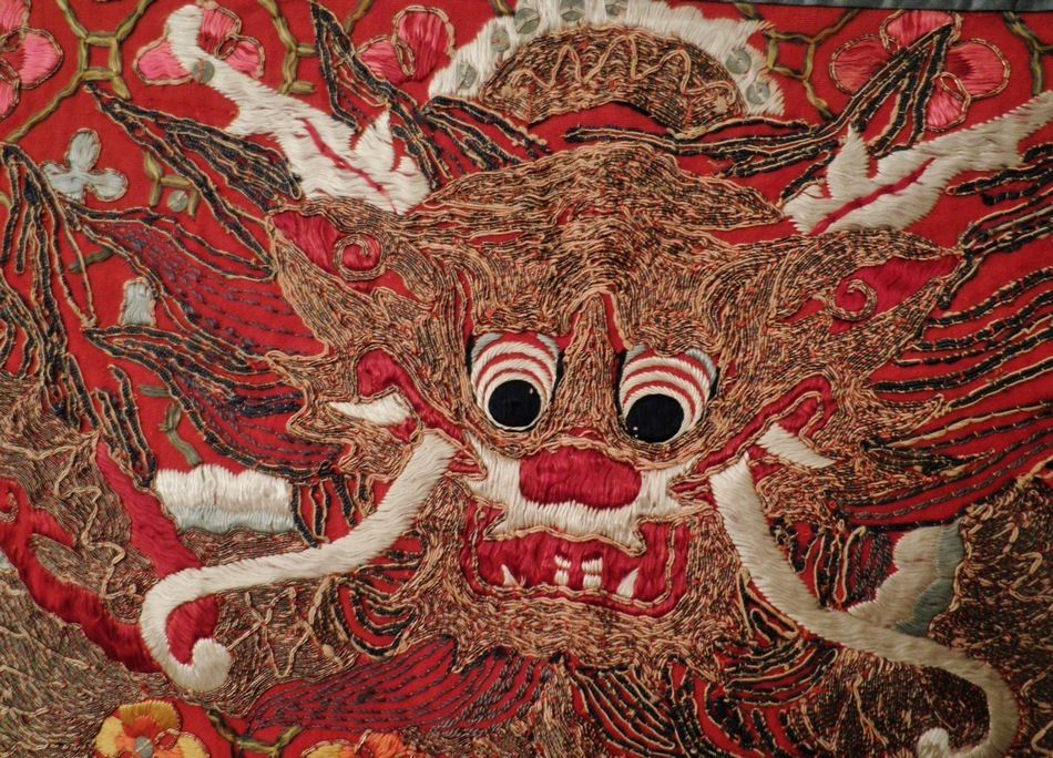 Qing Dynasty embroidery