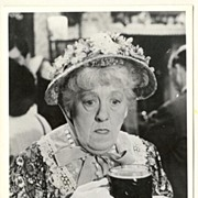 Margaret Rutherford. Old Photograph from Murder at the Gallop