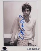 Bob Geldof Autograph
