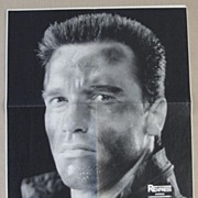 REDUCED Governor Arnold Schwarzenegger hand signed Poster. CoA