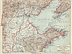 Old China Map: Tschi-Li and Shan-Tong. 1900