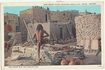 Hopi Snake Priest. Vintage Postcard Indian. Sent to Austria