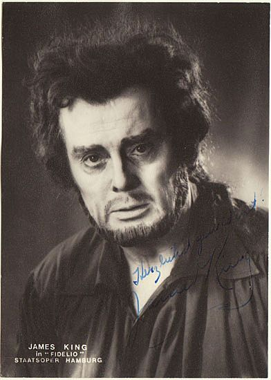 James King Autograph: Hand signed Photo.
