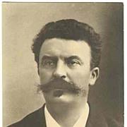 Guy de Maupassant: Vintage Photo, ca. 1910