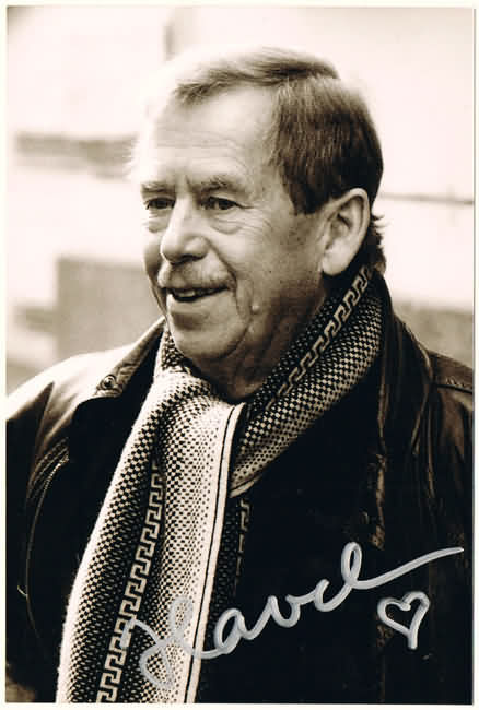 Vaclav Havel Autograph