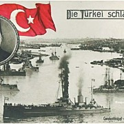 Turkey strikes out: Vintage Postcard, app. 1915
