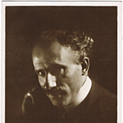 Arturo Toscanini Photo Postcard, app. 1910