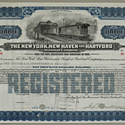 The New York, New Haven and Hartford Railroad Company Gold Bond $10,000