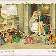 Two Pauli Ebner Postcards. A Doll�s Wedding