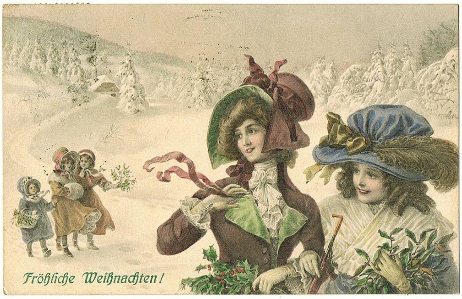 Christmas postcard VIENNE