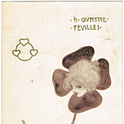Raphael Kirchner Postcard from 1900