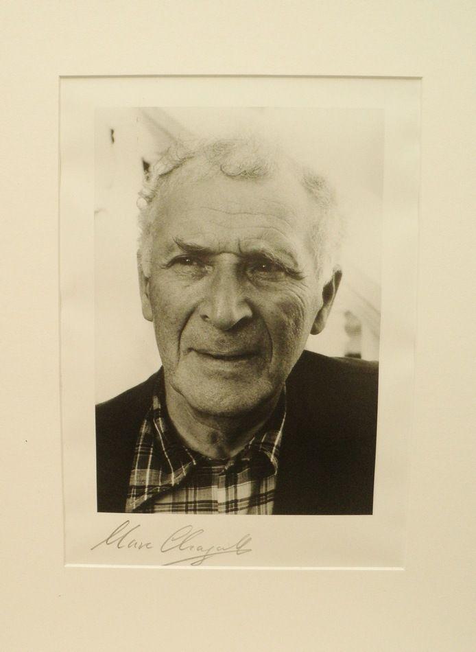 Marc Chagall Autograph