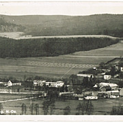 Mayerling vintage Postcard. The Place where Crown Prince Rudolf died