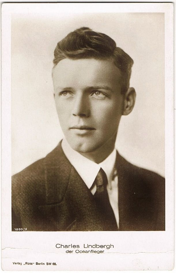 Charles Lindbergh Vintage Photo Postcard From Curioshop On Ruby Lane