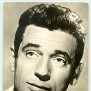 Yves Montand postcard issued in former East Germany