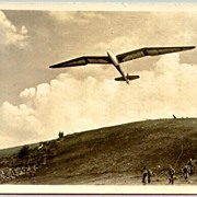 1940: W.W.II Germany: Minimoa Plane in Flight