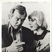 REDUCED Elke Sommer autograph on b/w photo