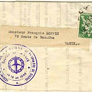 1945: Belgian Prisoner of War Mail � Wanze. W.W.II