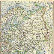 1898: 3 old Maps related to Russia and related Area.