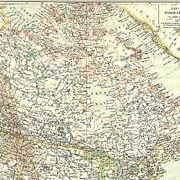 1906: Old Canada � British North America Map