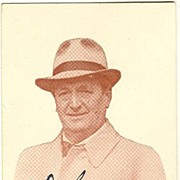 Desirable Autograph by Hans Moser � Jean Julier on scarce Postcard