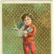 1912:  Happy Saint�s Day. Embossed Vintage Postcard