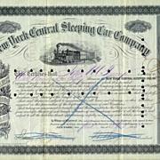 188O: New York Central Sleeping Car Company - old share
