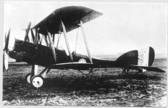 Authentic Photo of and old Air Plane from WWI Period.
