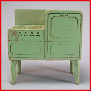 Strombecker Dollhouse Miniature Range - Green 1933 1&quot; Scale