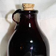Miniature Glass Jug with Cork