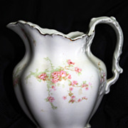 Vintage Porcelain Creamer by Johnson Bros., Cherry Blossom Design