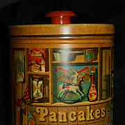 Vintage Quaker Oats Tin Black Memoribilia Aunt Jemima