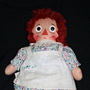 Vintage Knickerbocker 1960s Raggedy Ann