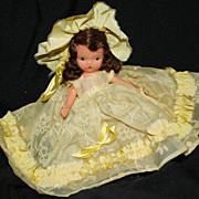 Nancy Ann Storybook Doll #171 - Daffy Down Dilly NASB