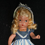 Nancy Ann Storybook Doll #126 � Going A Milking NASB