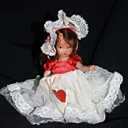Nancy Ann Storybook Doll #157 � Queen of Hearts NASB