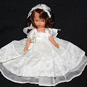 Nancy Ann Storybook Doll #86 � Bride NASB