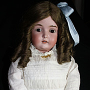 "SALE 30"" Antique Bisque German Doll Kestner 171 w/matching marked body"
