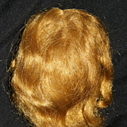 SALE PENDING Original 1950's Madame Alexander Cissy Doll Wig Strawberry Blonde Light Auburn