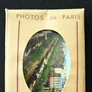 Packet of 20 Vintage Souvenir Photographs of Paris (#2)
