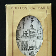 Packet of 20 Vintage Souvenir Photographs of Paris (#1)
