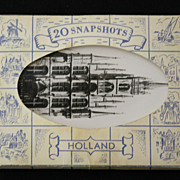 Packet of 20 Vintage Souvenir Photographs of Holland