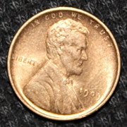 Uncirculated 1909 VDB Lincoln Penny